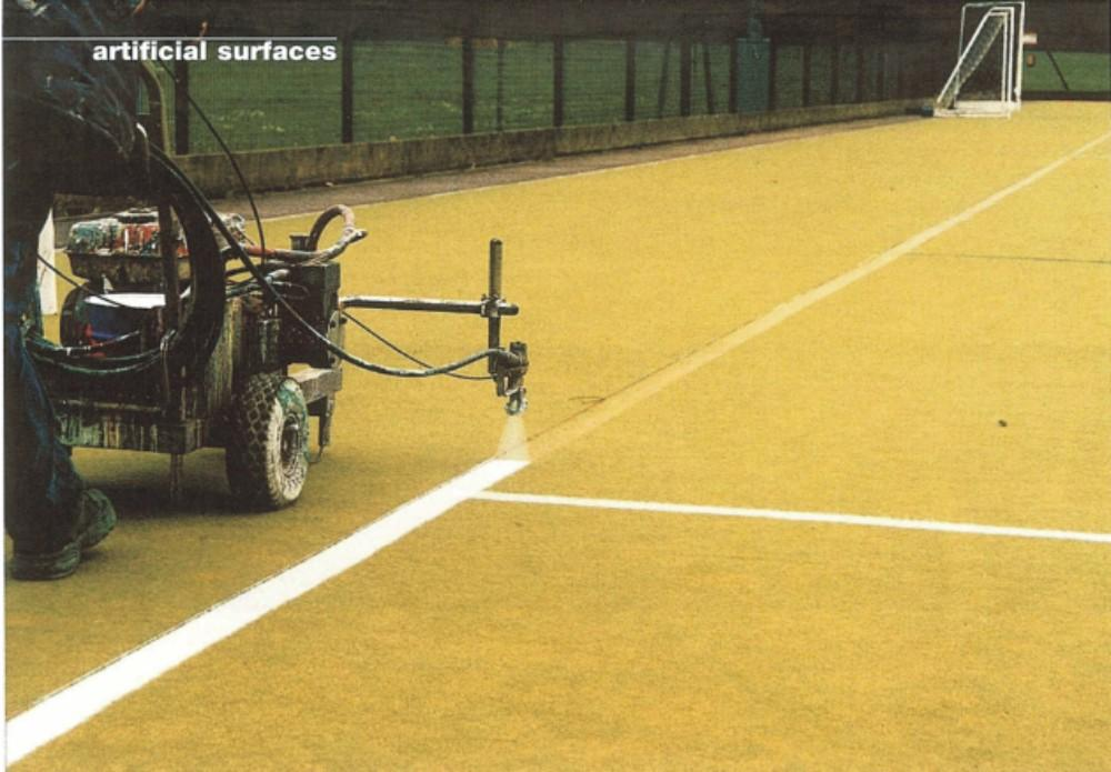 Lines no hazard to Technical Surfaces