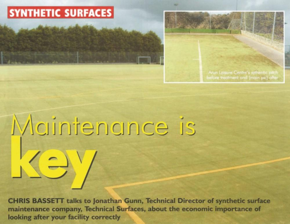 Turf Pro Magazine Front Feature