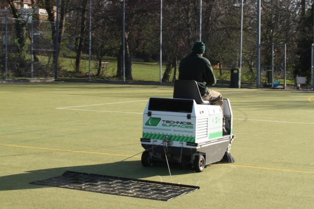 It's never too late to start looking after your artificial pitch