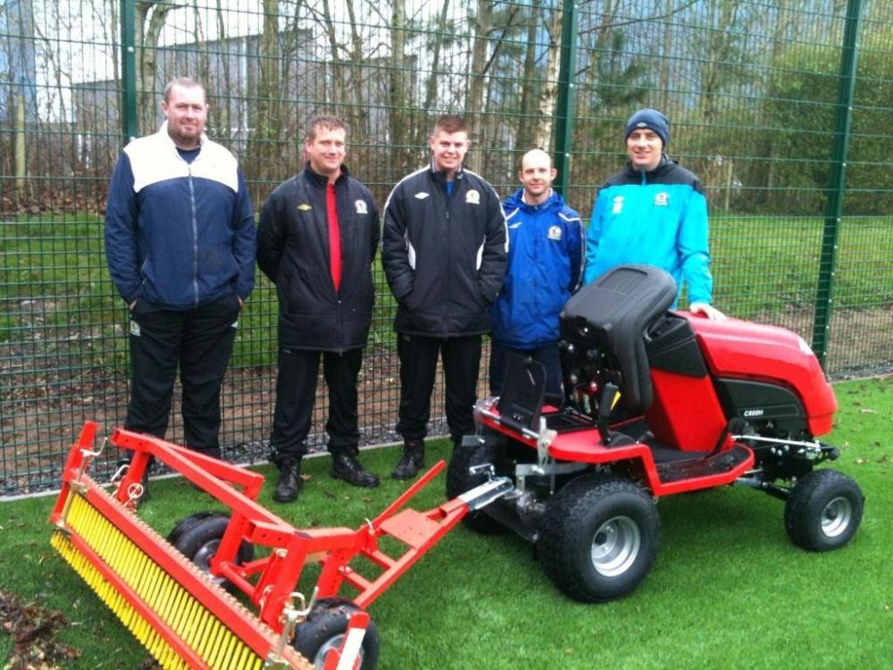 R.E.D Range supplied to Blackburn Rovers FC