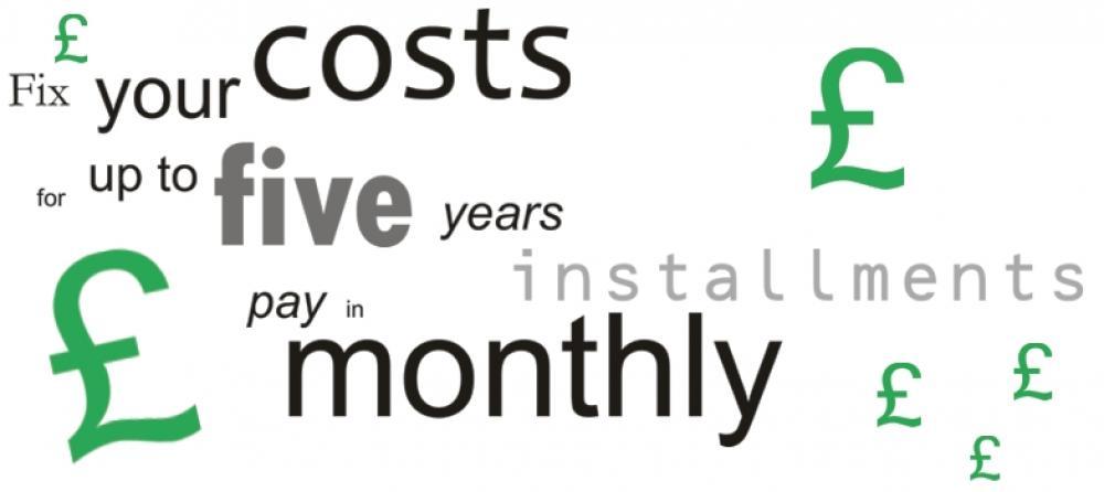 Plan Ahead - budgeting for maintenance
