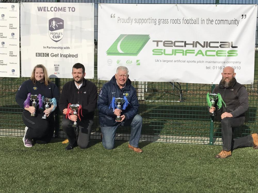 TS teams up with Leicestershire FA for the People's Cup