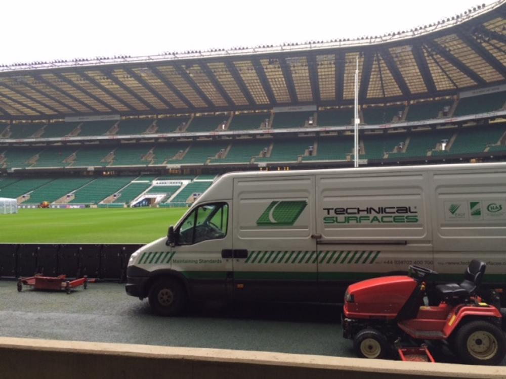 Tech Surfaces helps Twickenham prepare to host Six Nations