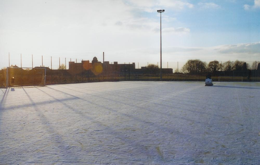 Frozen Pitches Maintaining Standards