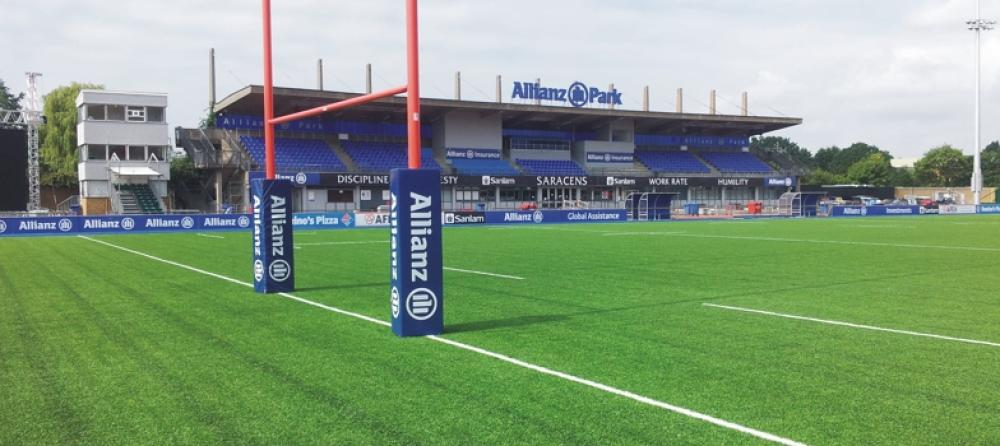 Saracens RFC: Maintaining the Allianz Park 3G Pitch
