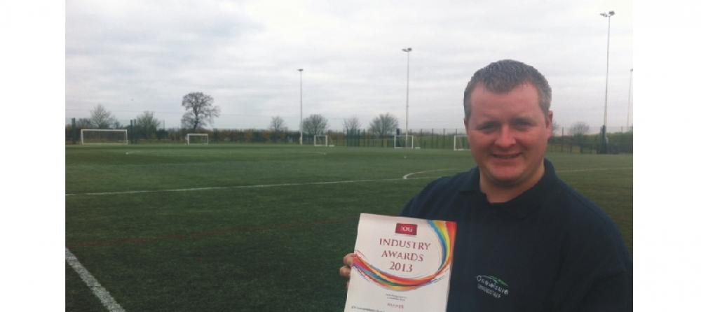One Leisure St. Ives wins pitch maintenance award...
