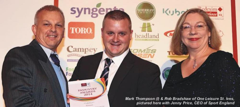 One Leisure St. Ives achieves repeat IOG Awards success!