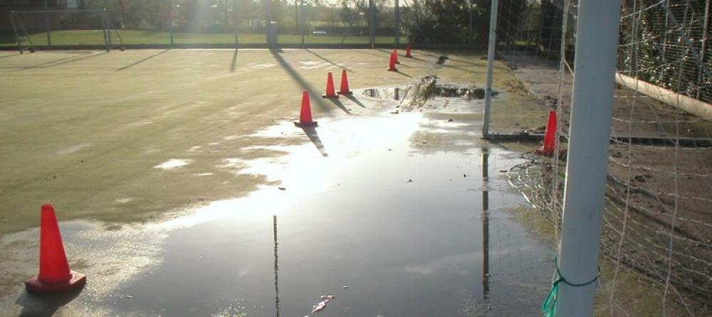Is your synthetic sports pitch at risk of flooding?