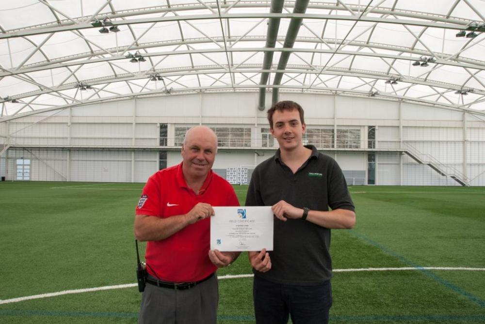 St. George's Park pitch passes second FIFA 2-Star test