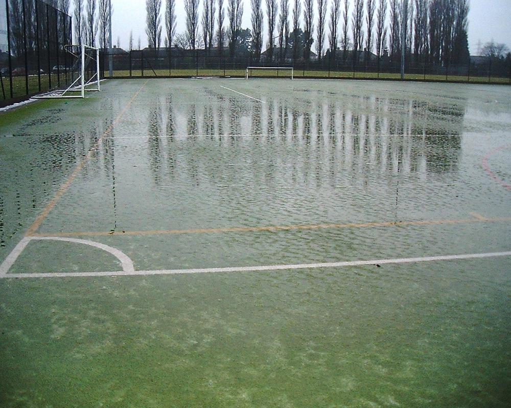 A Rain Check for Artificial Sports Pitches