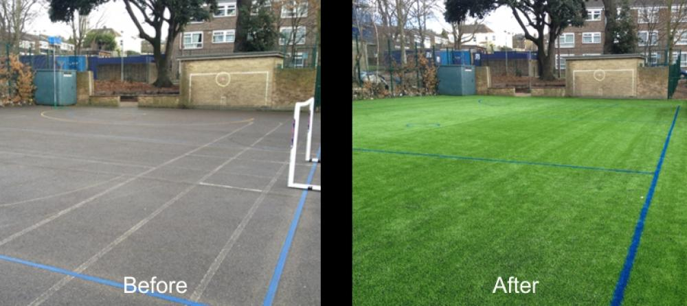 Tarmac Court Conversion